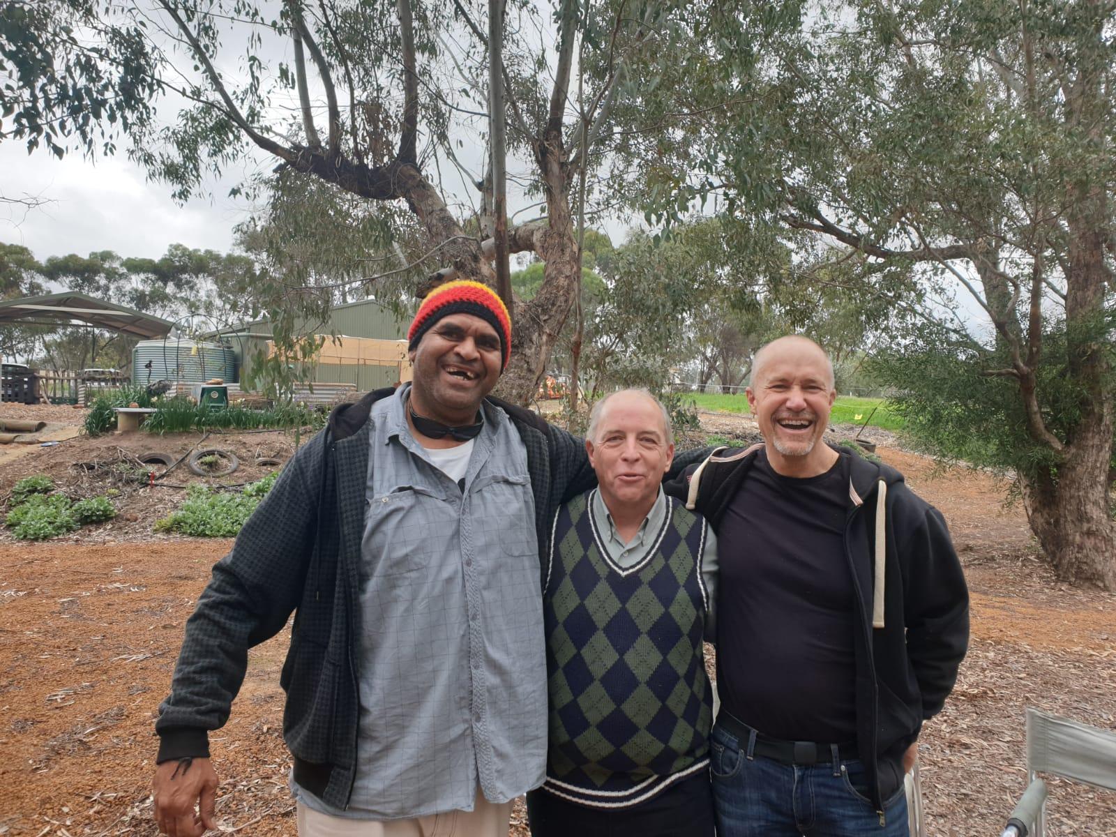 Len, Murray and Ollie